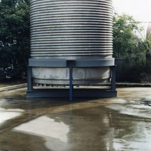 25,000litre half pipe coil jacketed reactor for the chemical industry