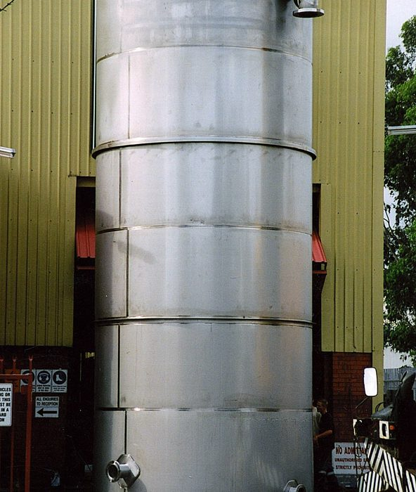 AMCOR 100KL tank Dec 2005